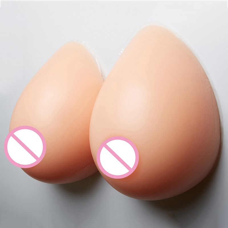 Huge Silicone Breast Form Drag Queen Shemale Fake Boob Transgender and Crossdressing Transvestite Artificial Breast 3600g 1000g piece silicone breast form artificial fake breasts enlargemet for silicone shemale transgender crossdresser drag queen