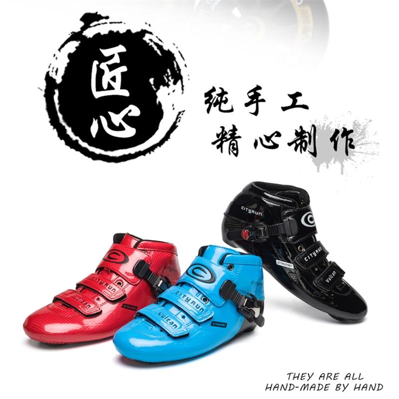 CITYRUN Inline Speed Skates Upper Boot For Track Racing Marathon Professional Skating Player EUR 30 To 45 For Kroea Japan US EU