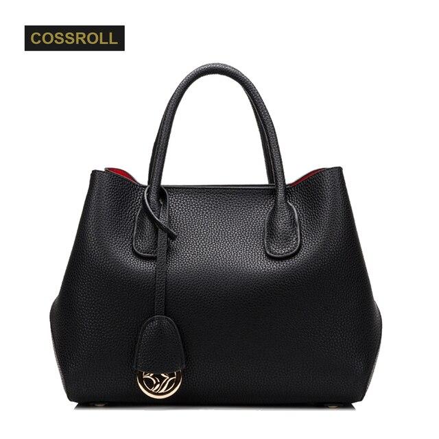 3b4ed704d06 US $83.59 |Luxury Women Bag Women's Genuine Leather Bags Brands Famous  Designer Women's Shoulder Bags Leather Bolsa Feminina Large Handbags-in ...