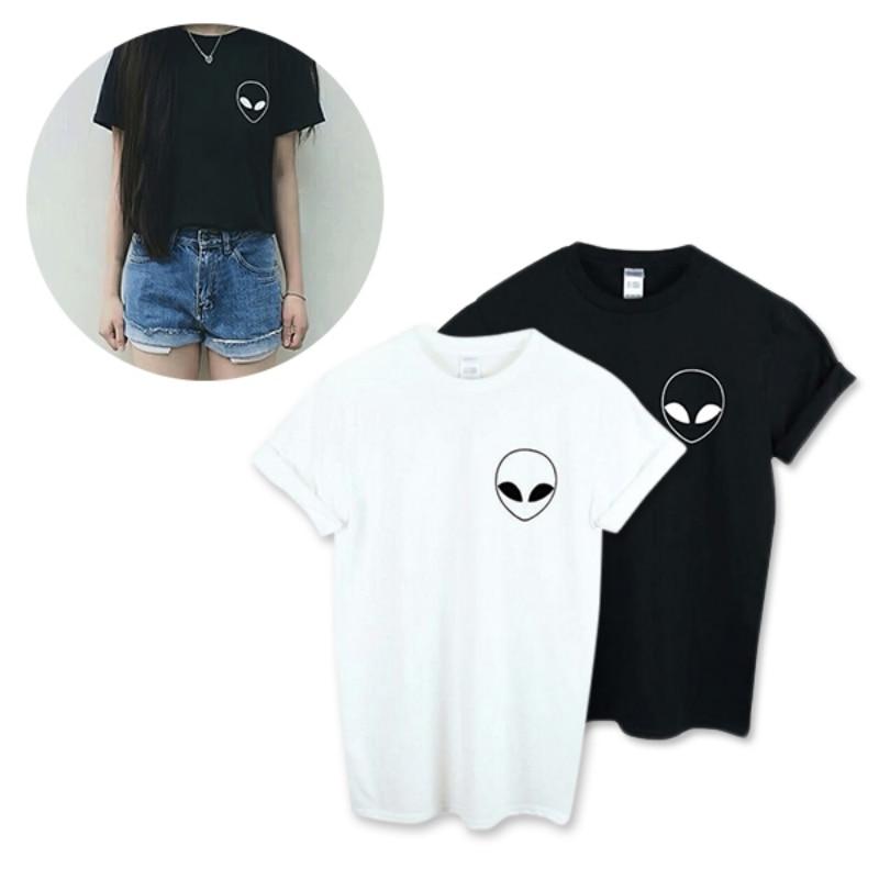 New-Summer-Kawaii-Design-Pattern-Aliens-T-Shirts-Women-O-Neck-Casual-Short-Sleeve-Cropped-Tops (4)