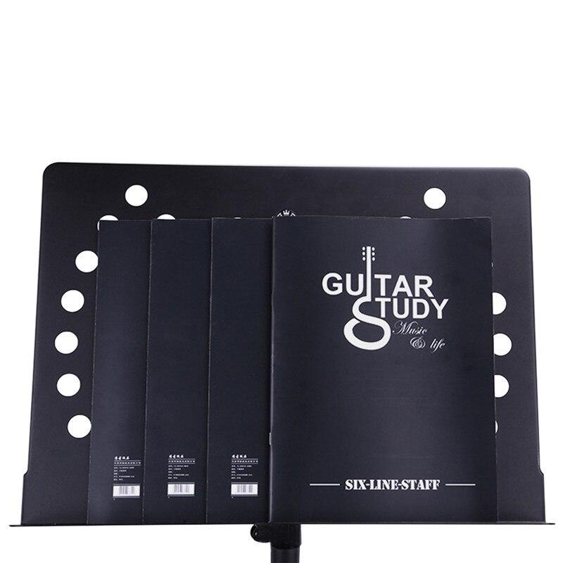 Blank Guitar Chords Tablature Practice Book Guitarra Finger Exercise