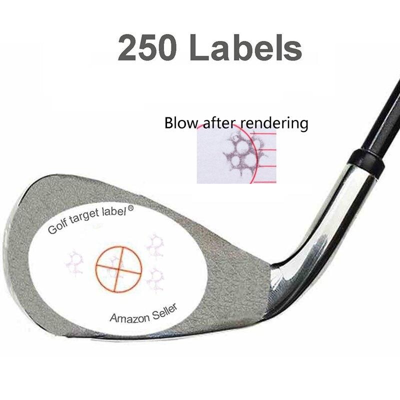 Гольф влияние этикетки целевой Стикеры ленты, Упаковка 250 шт.