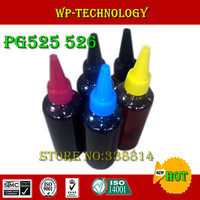 Dye ink,Suit for PGI525 CLI526,Suit for Canon IP4850 IX6550 MG5150 MG5250 MX885 ,Specialized High quality Ink, 5 Color.