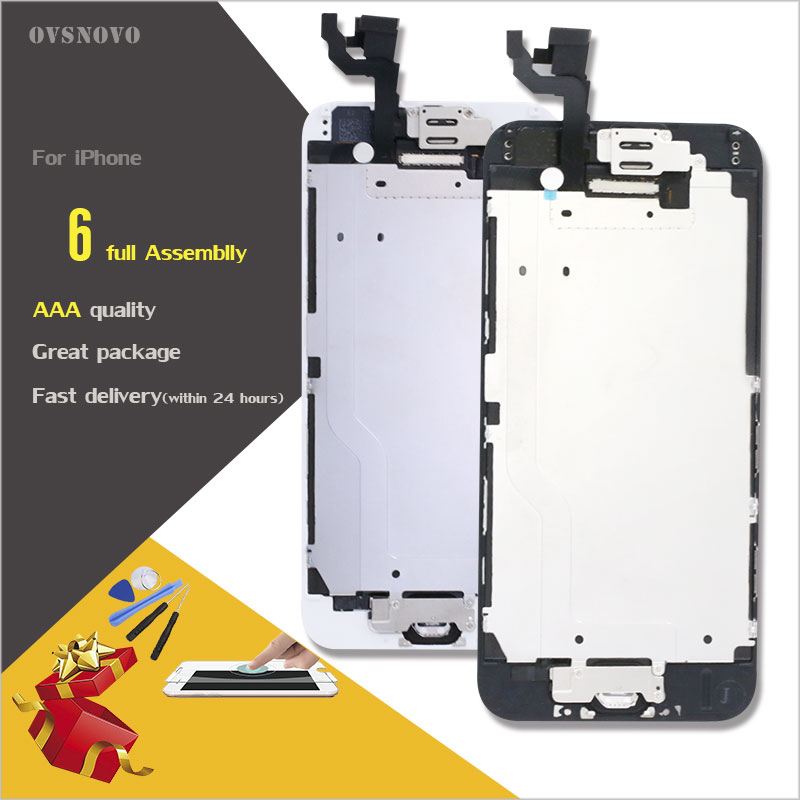 Ovsnovo For IPhone 6 6s LCD Full Assembly Touch Screen Display For Iphone 6 6s Plus
