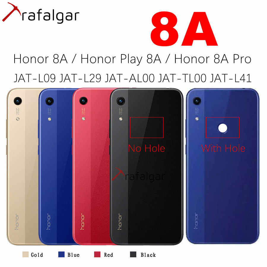nuovo prodotto 72cab de595 For Huawei Honor 8A Back Cover Battery Door Rear Housing Case For ...