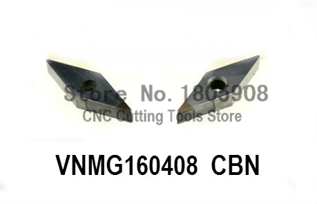 Free shipping 2PCS VNMG160408 CBN Inserts , CNC CBN Diamond insert For Lathe Tools Inserts For MVJCR/MVVNN