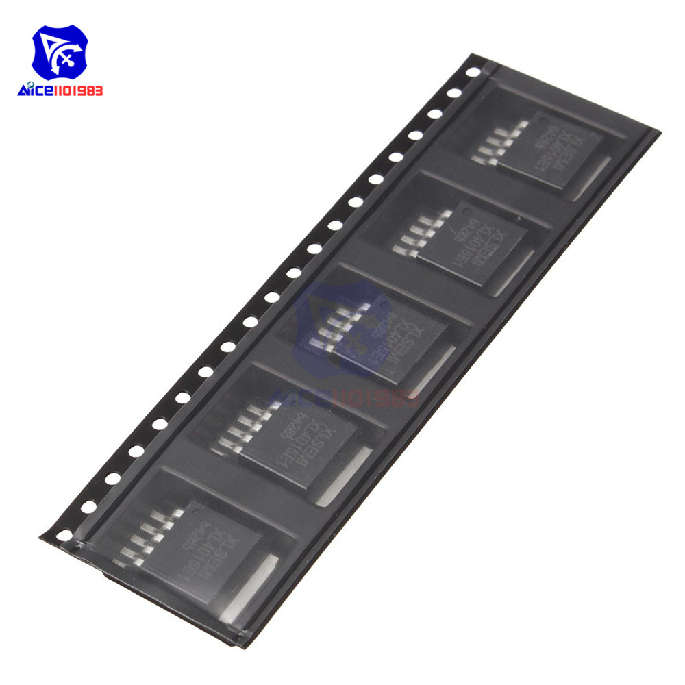 5 PCS/Lot IC Chips XL4015E1 TO263-5 XL4015 TO263 Original Integrated Circuits