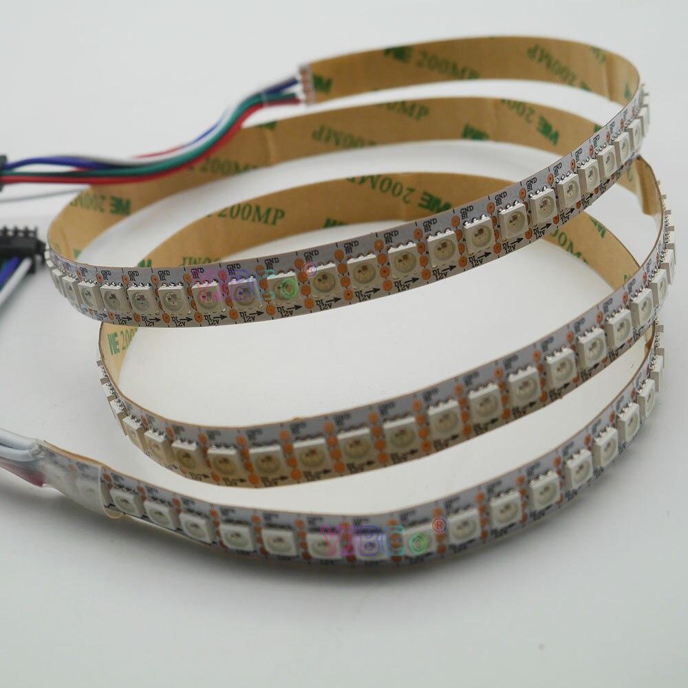 Image 5 - 1m/3m/5m DC12V WS2815 pixel led strip light,Addressable Dual signal Smart,30/60/144 pixels/leds/m Black/White PCB,IP30/IP65/IP67-in LED Strips from Lights & Lighting