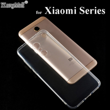 Clear TPU Phone Case for Xiaomi Redmi Note 4X 4 3 5 5a Pro Prime S2 4a Mi6 mi5s mix 2s max 2 Mi a1 5 6X 6 8 SE Silicone Cover