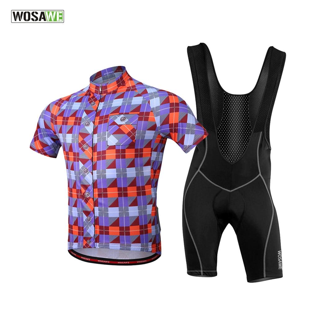 WOSAWE Pro Bicycle Wear MTB Cycling Clothing Breathable Cycling Jersey Sets  Bike Uniform Cycle Shirt 2018 Summer Cycling Sets 80efe6888