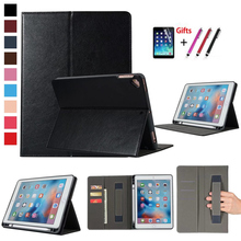 Luxury Soft Silicon back Case For iPad 9.7 2018 A1893 Tablet Fundas cover For ipad Air 1 2 iPad Pro 9.7 Leather Pencil Holder стоимость