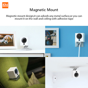 Image 4 - Original Xiaomi Mijia Xiaofang 1S 110 องศาF2.0 8X 1080P Digital ZOOMกล้องสมาร์ทIP WIFIไร้สายAPPเด็กMINI Camaras