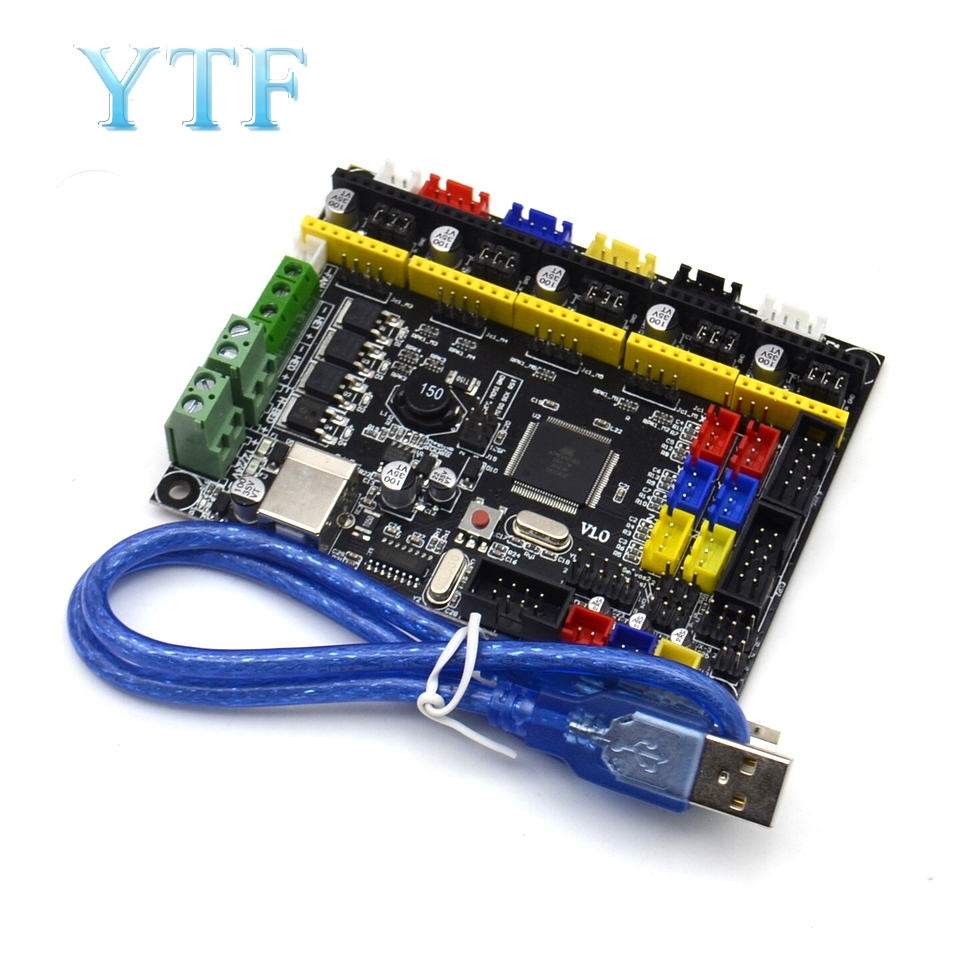 Without Drive Board MKS GEN L V1.0 Motherboard Control Board Compatible With RAMPS Open Source Marlin For 3D Printer