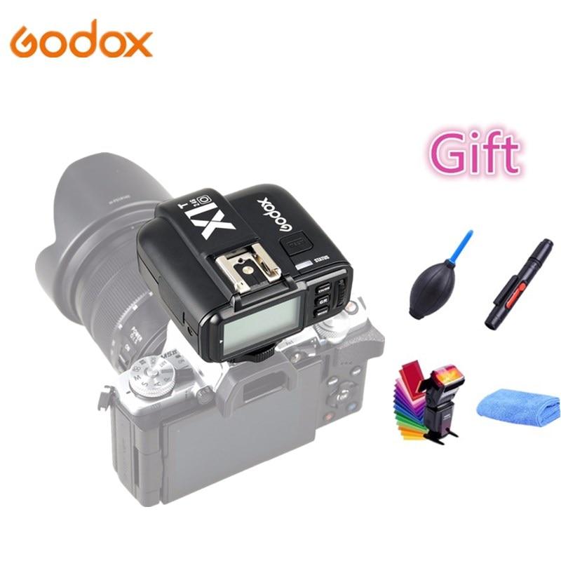 GODOX X1T-C X1T-N X1T-S X1T-O X1T-F Flash Trigger Transmitter 2.4G Wireless TTL HSS for Canon Nikon Sony Fujifilm Olympus Camera godox v860iic v860iin v860iis x1t c x1t n x1t s hss 1 8000s gn60 ttl flash speedlite 2 4g transmission godox softbox filter