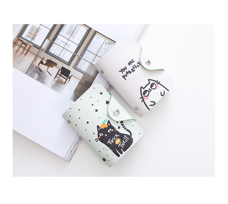 HTB1Oqeanv5TBuNjSspcq6znGFXar - Women Leather Card Case Credit Card Holder Student Cute Cartoon ID Cards Wallet Passport Business Card Holder Book Protector