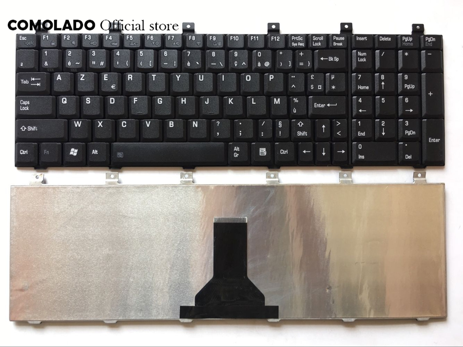 Fr Franse Toetsenbord Voor Toshiba Satellite M60 M65 P100 P105 L100 Zwart Toetsenbord Fr Layout