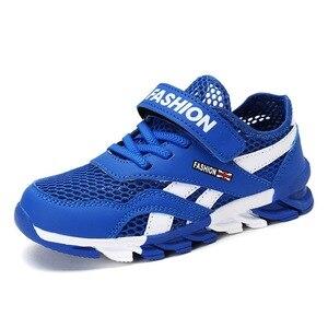 Image 2 - ตาข่ายระบายอากาศเด็กรองเท้าผ้าใบเด็กรองเท้าเด็กรองเท้าเด็กรองเท้ากีฬาโรงเรียนรองเท้าวิ่ง 28 30 31 32 33 34 35 36 37 39