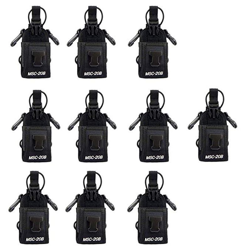 Generale walkie talkie 10 pack Msc-20b Multi-funzionale Radio Della Cassa Del Sacchetto per moto Kenwood Icom Yaesu Baofeng Two Way radioGenerale walkie talkie 10 pack Msc-20b Multi-funzionale Radio Della Cassa Del Sacchetto per moto Kenwood Icom Yaesu Baofeng Two Way radio