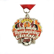 Custom Metal Craft Awards Annual Event Honor Medal Thanksgiving