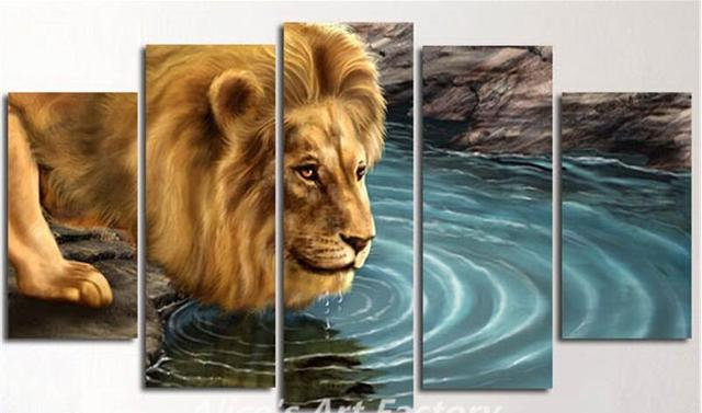 5 plane painting calligraphy wall painting paint home decor animal