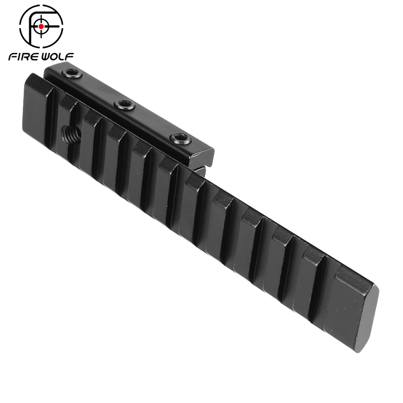 Tactical Hunting Dovetail Extension 11mm To 20mm Picatinny Weaver Rail Adapter Mount Base Rifle Accessories