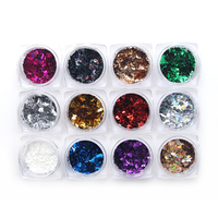 Moon Style Nail Art Sequins Decoration Manicure Glitter Nails Art Tools Colorful DIY Nail Accessories Nail