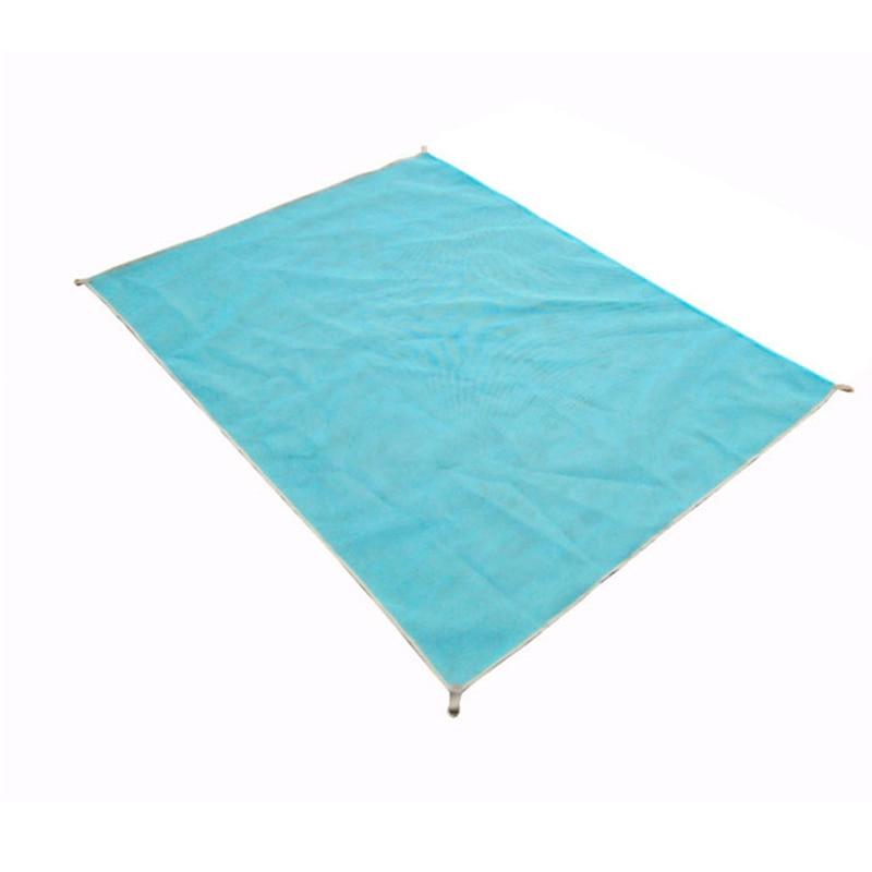 Brand sand-free beach mat blue/green/red 200*150cm/200*200cm sand free beach mats new Sandbeach mat