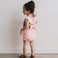 1-3Yrs Newborn Baby Clothes Infant Girls Summer Romper Kids