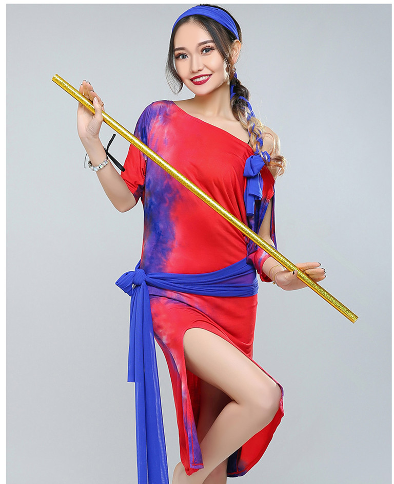 Bellydance oriental Belly Indian Egyptian eastern swing saidi baladi dance costumes clothes bra belt robe skirt