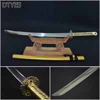 High Manganese Steel Espada Katana Samurai Handmade Reale Katana Spade Espada Katana Afiada Samurai Katana Sword For Sale