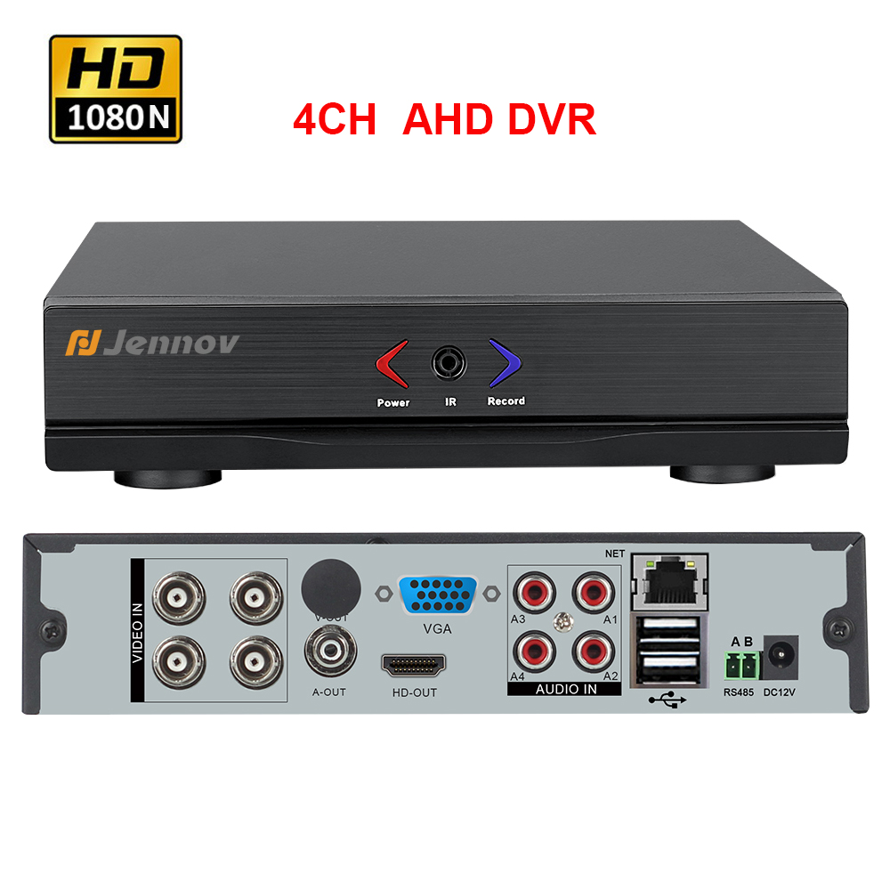 AHD 1080N 4CH 8CH CCTV DVR For CCTV Kit VGA HDMI Security System Mini DVR PTZ
