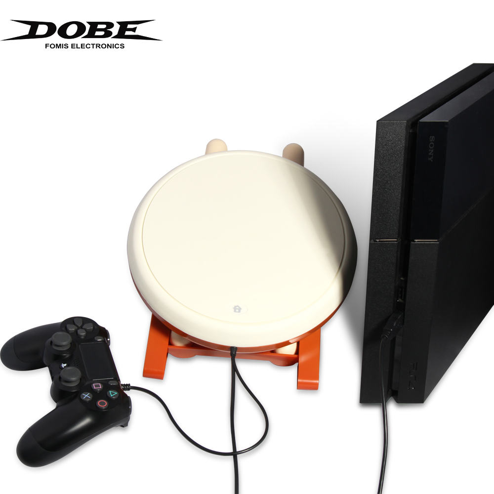 DOBE taiko ps4 Taiko Drum Controller For PlayStation PS4/Slim/Pro Video Drumming Game Controller Gaming Accessories Japan Drum.-in Replacement Parts & Accessories from Consumer Electronics    1