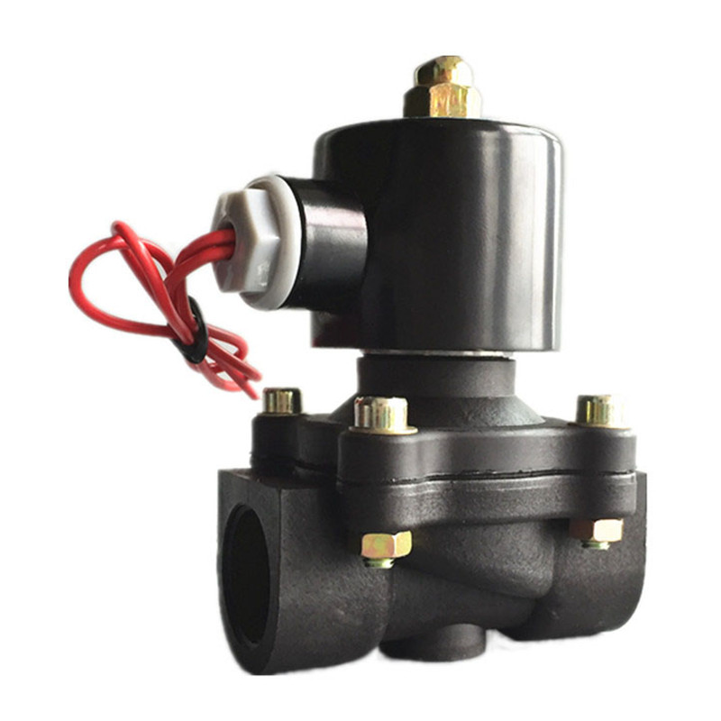 Free Shipping 3/4 Solenoid valve water valve N/C 2 way Air Oil gas 2W200-20 12V 24V 220V electromagnetic valve