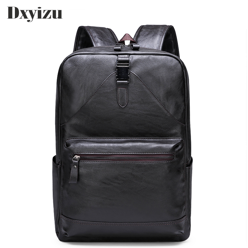 Fashion Men Backpack Waterproof Genuine Leather Travel Bag Male Man Large Capacity Teenager Male Mochila Laptop Backpacks