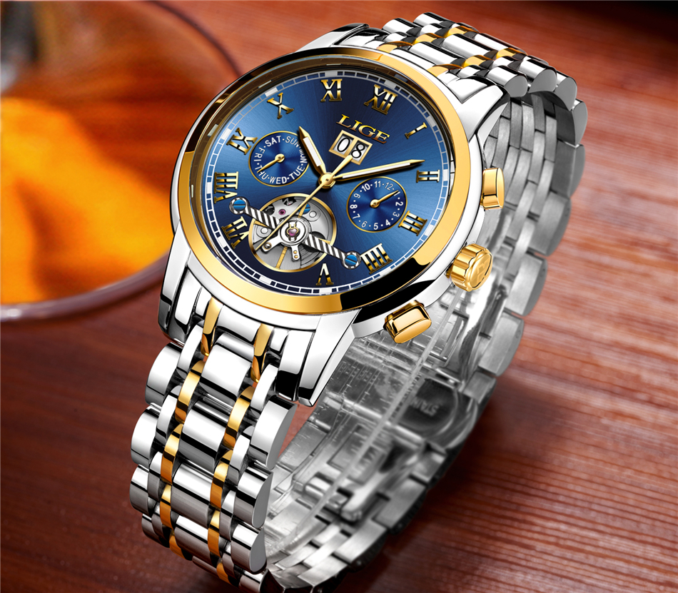HTB1Oqh9VNTpK1RjSZFKq6y2wXXaC Mens Watches Top Brand LIGE Fashion Luxury Business Automatic Mechanical Men Military Steel Waterproof Clock Relogio Masculino
