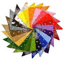 Free Shipping 2014 New Hot Sales Women/Men 100% Cotton 54cm*54cm Paisley Printed Bandana,More Color Can Choose.