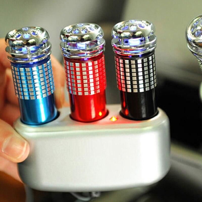 12В автомобильный очиститель воздуха генератор озона ионизатор озонатор мини про устройство для удаления дыма освежитель воздуха автомоби...