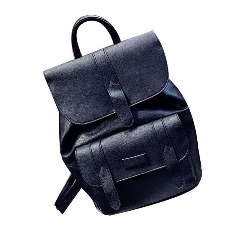 Backpack Female 2017 Women's Backpack Shoulder Bag Two Way Casual Rucksack Hasp Backpack School Bags for Teenage Girls Mochila