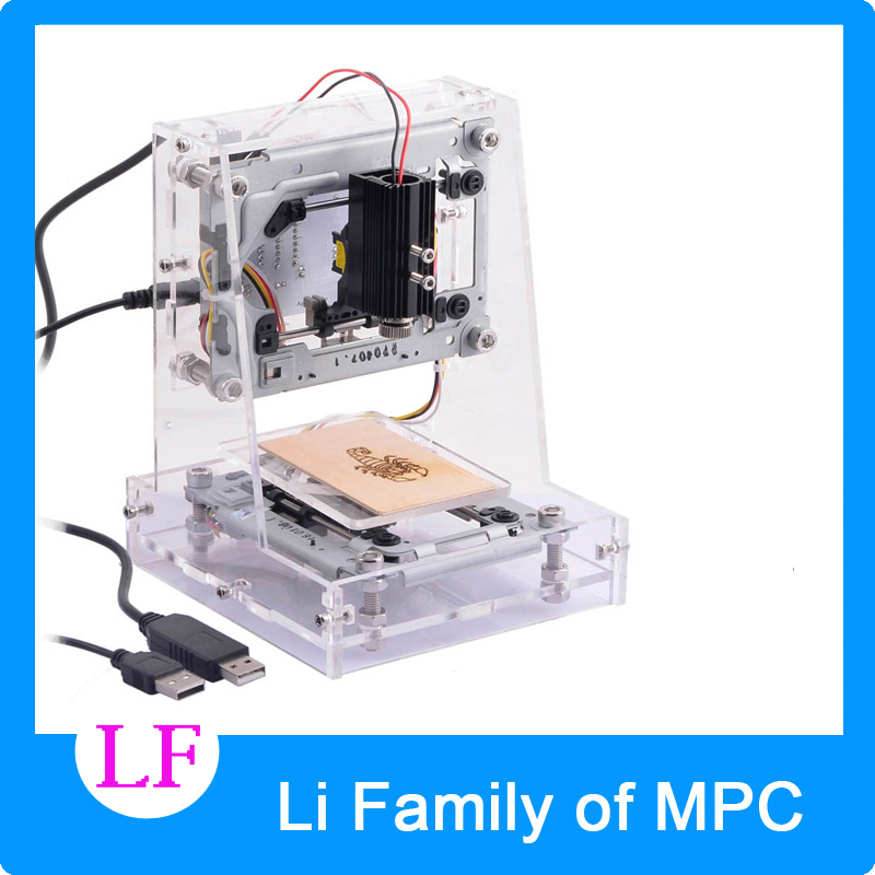 DIY Mini Laser Engraver Laser engraving Machine For Small Artware, Carved Chapter, Rubber Stamp