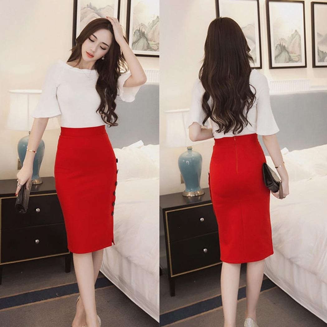 Popular Skirt Office Business-Buy Cheap Skirt Office Business lots ...