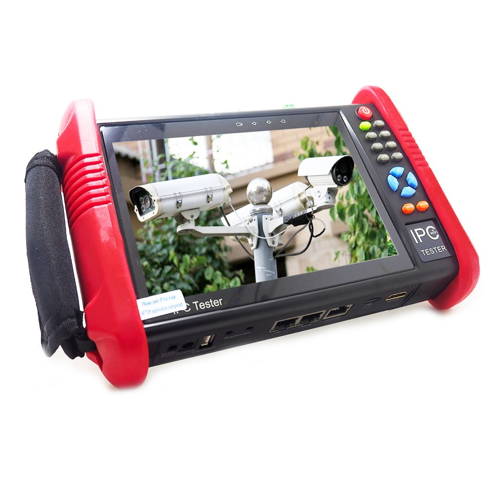 IPC9800ADHS 7 Inch Touch Screen 6-IN-1 HD CCTV Tester Monitor 1080P PTZ IP Analog AHD CVI TVI SDI Cameras Testing 8MP 5MP 4MP ...