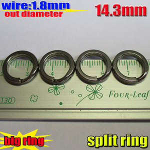 Split-Rings OD with 304stainless-Steel Size:Wire Quantity 200pcs/Lot Best-Factory-Production