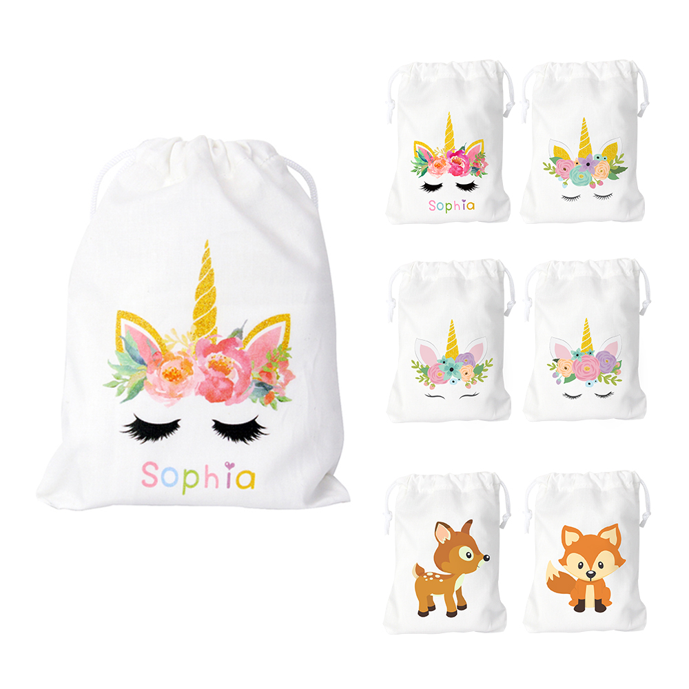 Unicorn Party Favor Bags Candy Gifts Bags Birthday Favor Party Bags for gifts or treats Theme