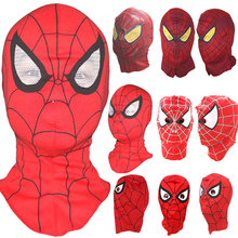 Wholesale Spider-Man Face Mask Spider Man Hood for Halloween Party Spiderman Full Head