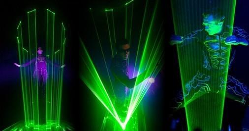 laser men 9