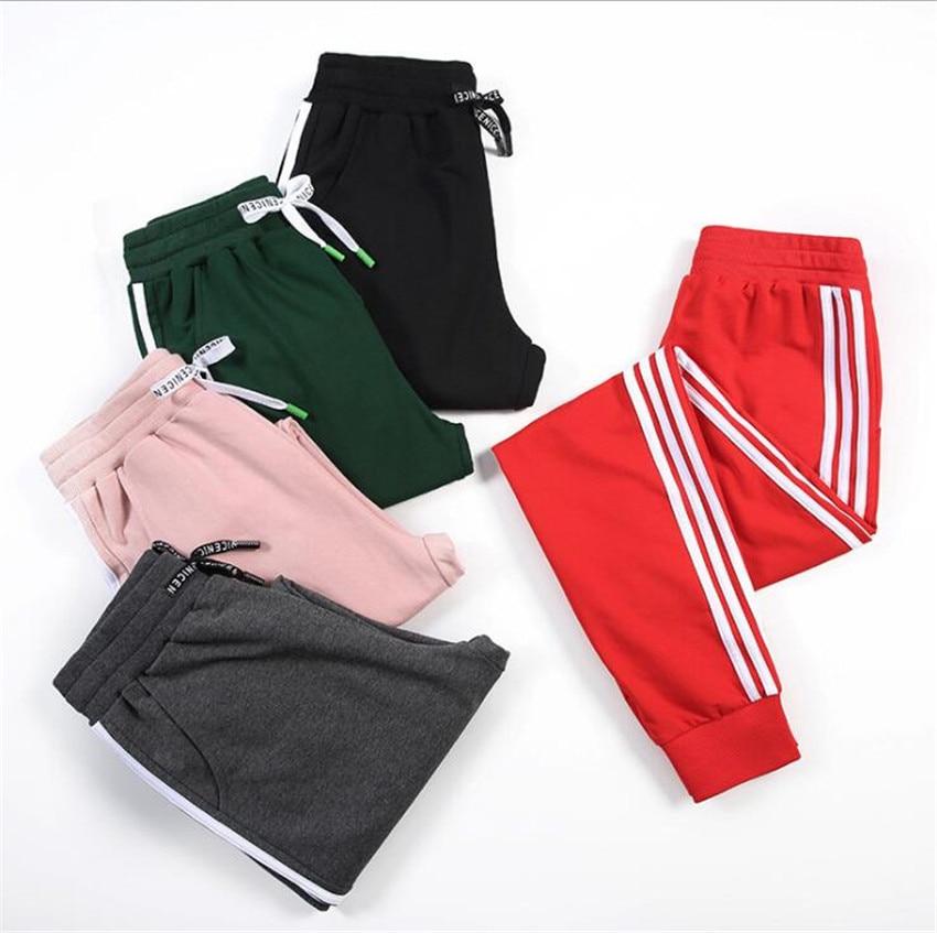 MLCRIYG 2018 versión coreana mujer otoño suelta gran código Haren pantalones casuales KP01