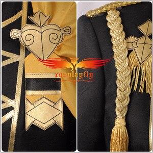 Image 5 - Fogo emblema jogo: três casas claude von regan fantasia batalha meninos cosplay traje adulto uniforme camisa superior calças manto