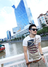 Summer Tops Tees Short Sleeve t shirt Man,Men's T-shirt men's brand fashion