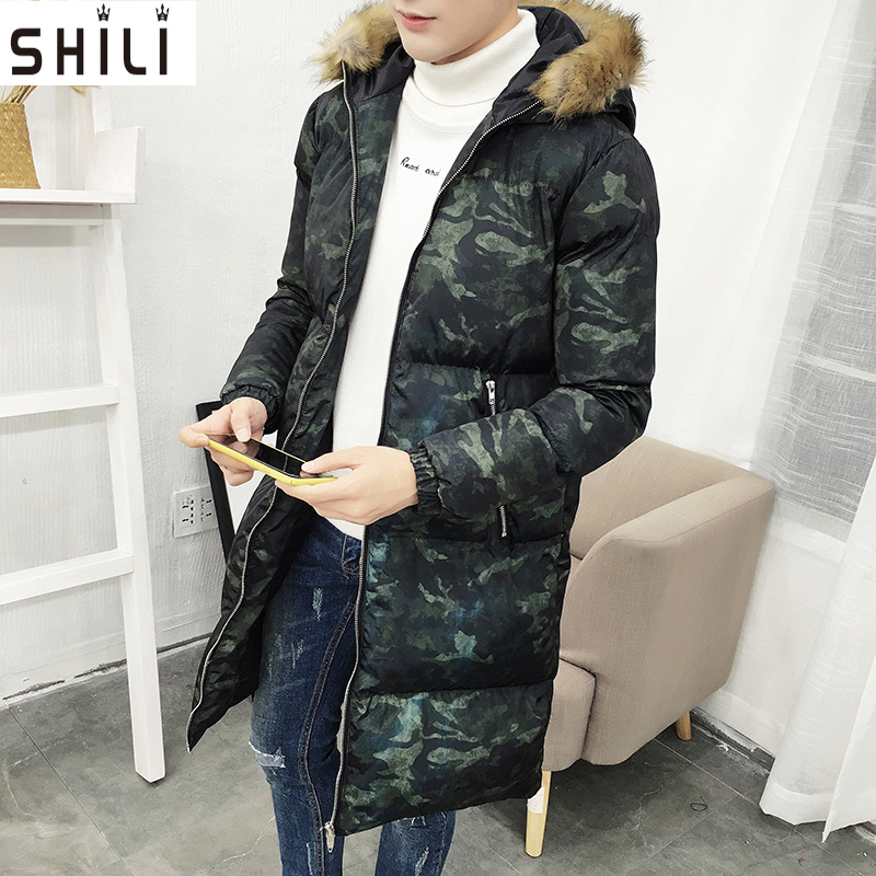 Men Jacket Outerwear Zipper Male Casual Coat winter Clothing Solid Thick Outwear Army Cotton Jackets Plus size M-5XL