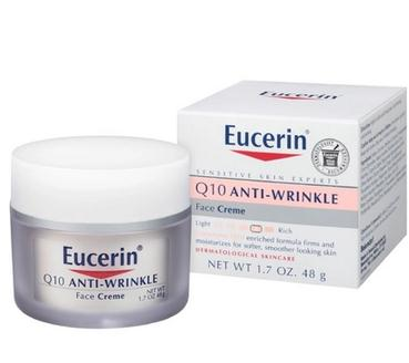 Eucerin antiwrinkle Q10 anti wrinkle moisturizing cream 48g sensitive skin anti wrinkle in the United States filorga anti wrinkle набор anti wrinkle набор